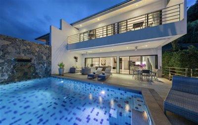 Villa-Dove-For-Sale-Ko-Samui-Night