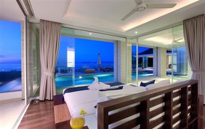 Villa-White-Tiger-Ko-Samui-Bedroom-4-Night