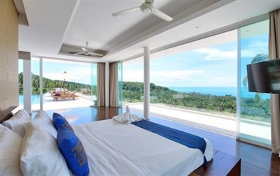Villa-White-Tiger-Ko-Samui-Bedroom-View