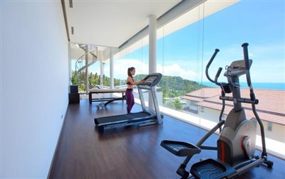 Villa-White-Tiger-Ko-Samui-Gym