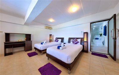 Villa-Seven-Swifts-Ko-Samui-Twin-Beds