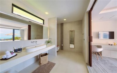 Villa-Nojoom-Hills-Ko-Samui-Shower