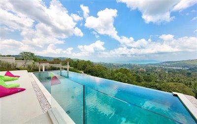 Villa-Nojoom-Hills-Ko-Samui-Pool-View