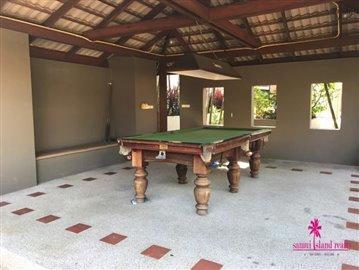 Resort-Style-Townhouse-Koh-Samui-Pool-Table
