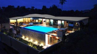 Milla-Villa-Ko-Samui-Exterior-Night