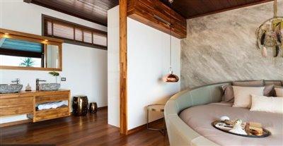 Milla-Villa-Ko-Samui-Stylish-Bed