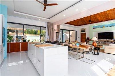 Modern-Bali-Style-Villa-Ko-Samui-Kitchen