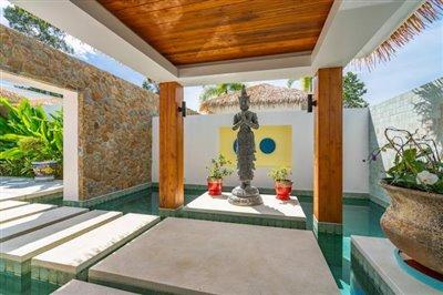Modern-Bali-Style-Villa-Ko-Samui-Entrance