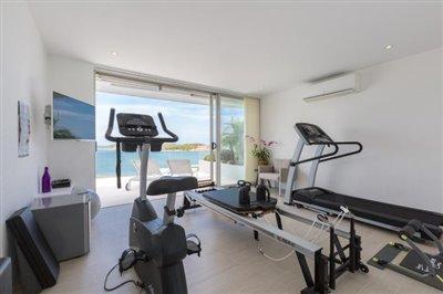 Villa-Som-Beachfront-Property-Gym