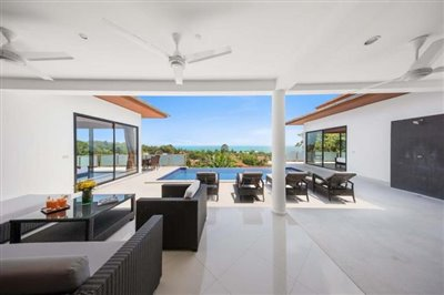 Sunny-Banks-Villa-Ko-Samui-Living-Area-View