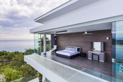 Villa-Sasipimon-Ko-Samui-Bedroom-Exterior