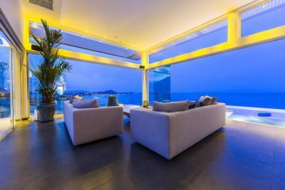 Villa-Sasipimon-Ko-Samui-Lounge-Night