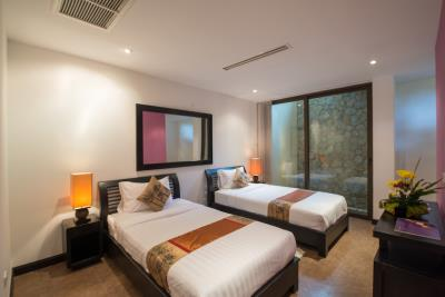 Rockwater-Sea-View-Townhouses-Samui-Twin-Beds