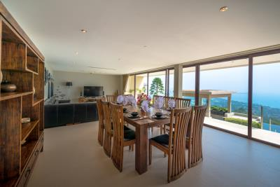 Chaweng-Sea-View-Villa-For-Sale-Samui-Dining