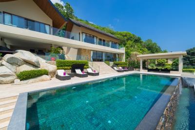Chaweng-Sea-View-Villa-For-Sale-Samui-Pool