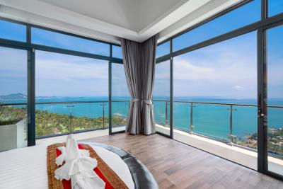 Villa-Seawadee-Ko-Samui-Bedroom-View