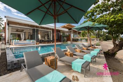 Villa-Suma-Beachfront-Property-Ko-Samui-Beachfront-Sun-Loungers