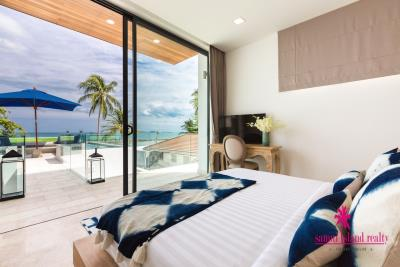 Villa-Suma-Beachfront-Property-Ko-Samui-Bedroom-View