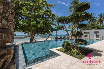 Villa-Suma-Beachfront-Property-Ko-Samui-Stunning-Pool-Area
