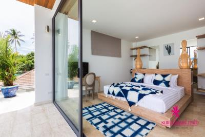 Villa-Suma-Beachfront-Property-Ko-Samui-Bedroom-4