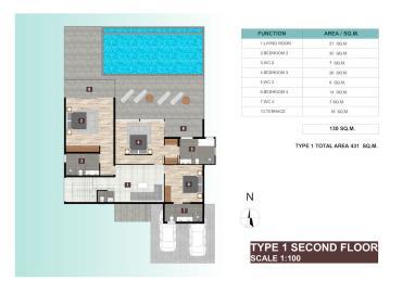 Ocean-Skyline-Villas-Ko-Samui-2nd-Floor-Plan