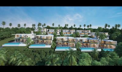 Ocean-Skyline-Villas-Ko-Samui-Site-Rendering
