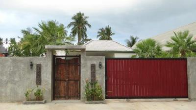 Lamai-Pool-Villa-For-Sale-Entrance