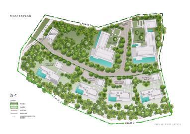 Five-Islands-Estate-Ko-Samui-Site-Plan