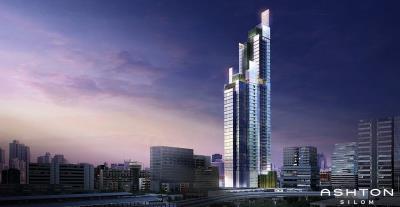 Ashton-Silom-Condominium-Exterior-Rendering