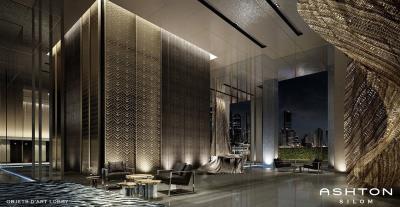 Ashton-Silom-Condominium-Lobby