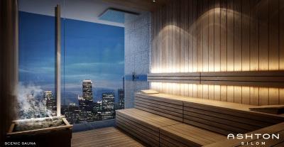 Ashton-Silom-Condominium-Sauna