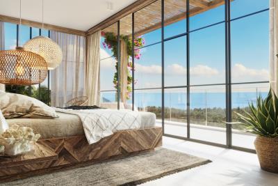 Chandra-Villas-Ko-Samui-Exterior-Sea-View-Bedroom