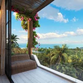 Chandra-Villas-Ko-Samui-Balcony-View