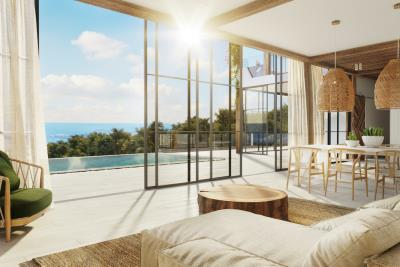 Chandra-Villas-Ko-Samui-Sea-View-Lounge