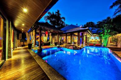 Villa-Kensho-Ko-Samui-Pool-Night