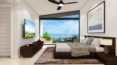 Sea-View-Choeng-Mon-Villa-Bedroom-View