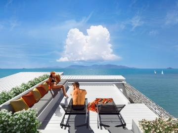 Vida-Apartments-Ko-Samui-Roof-Deck-View