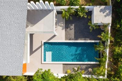 Newly-Completed-Bophut-Villa-Aerial-Pool