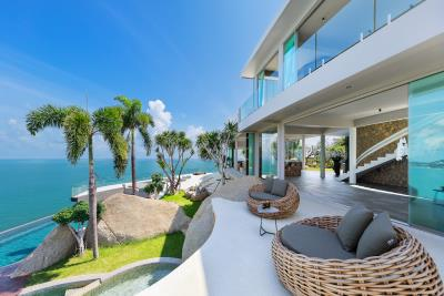 Ko-Samui-Luxury-living-At-Its-Best-Terrace-Garden