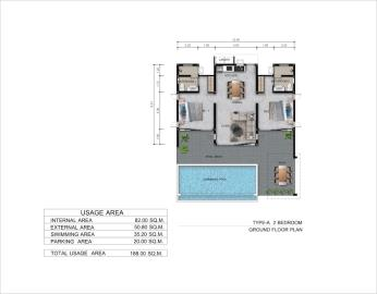 Coco-Moon-Villas-Koh-Samui-Type-A-Floor-Plan
