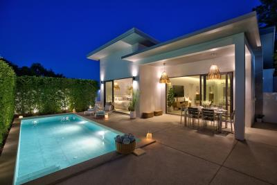 New-Bangrak-Pool-Villa-Exterior-Night