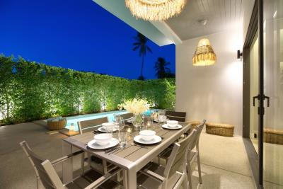 New-Bangrak-Pool-Villa-Outdoors-Night