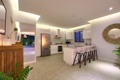 New-Bangrak-Pool-Villa-Kitchen-Night