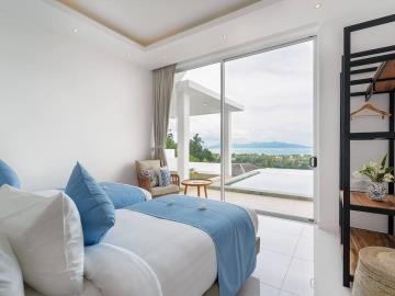 Bophut-Sea-View-Villa-Bedroom-2