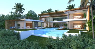 Sensational-Sea-View-Villa-Chaweng-Noi-Exterior-Light-Blue