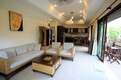 Bophut-Three-Bedroom-Duplex-Villa-Sofa