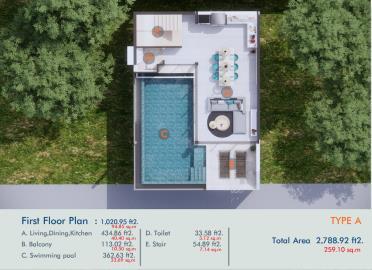 XV-Villas-Ko-Samui-1st-Floor-Plan