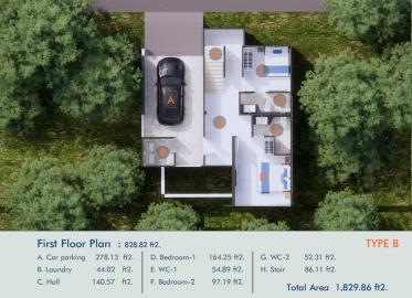 XV-Villas-Samui-Ground-Floor-Plan