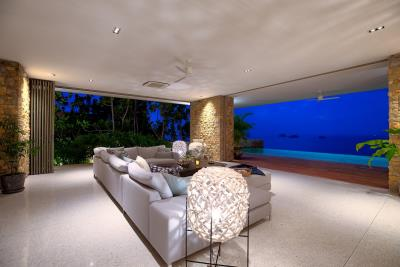 Villa-Baan-Sang-Ko-Samui-Lounge-Night