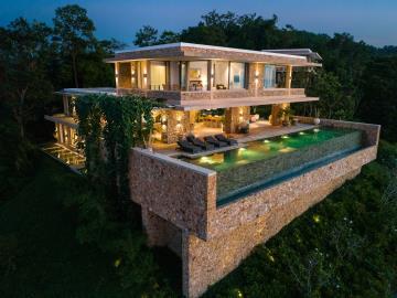 Villa-Baan-Sang-Ko-Samui-Night-Exterior